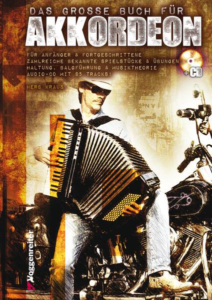 Das große Buch für Akkordeon - Coverbild