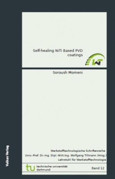 Self-healing NiTi Based PVD Coatings - Coverbild