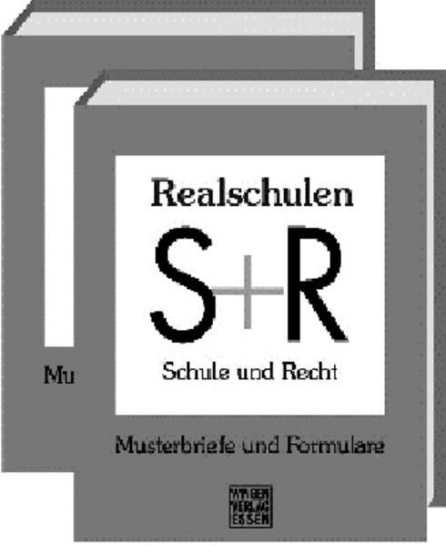 Schule und Recht: Realschulen Nordrhein-Westfalen - Coverbild