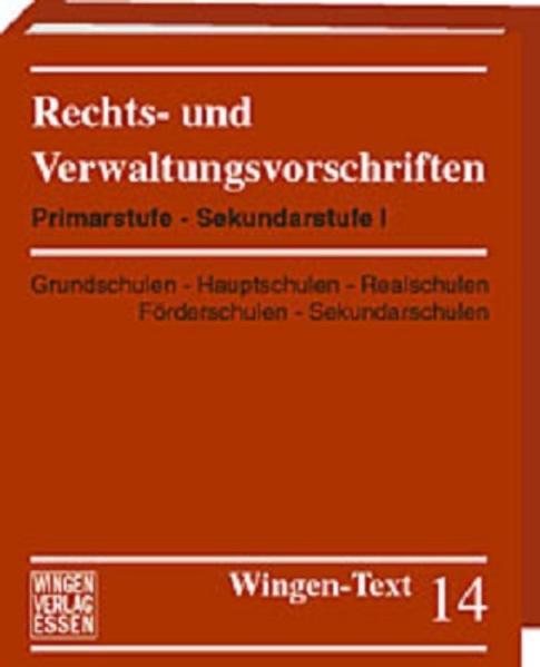 Grundschulen - Hauptschulen - Förderschulen - Realschulen - Sekundarschulen - Coverbild