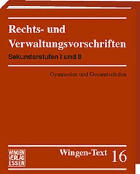 Sekundarstufe I und II: Gymnasien und Gesamtschulen - Coverbild