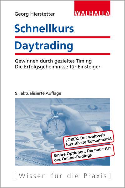 Schnellkurs Daytrading - Coverbild
