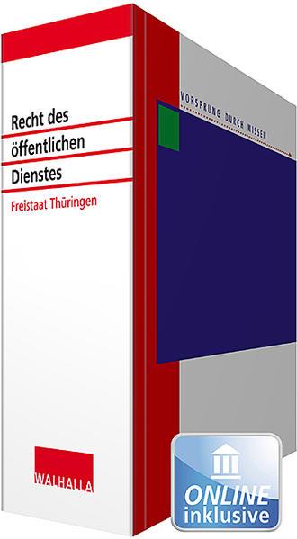 Recht des öffentlichen Dienstes Thüringen - Coverbild