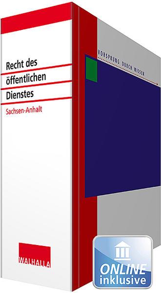 Recht des öffentlichen Dienstes Sachsen-Anhalt - Coverbild