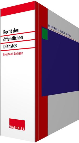 Recht des öffentlichen Dienstes Sachsen - Coverbild