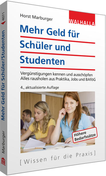Mehr Geld für Schüler und Studenten - Coverbild