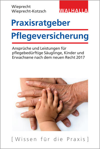 Praxisratgeber Pflegeversicherung - Coverbild