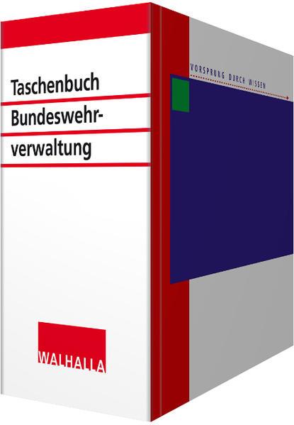 Taschenbuch für die Bundeswehrverwaltung - Coverbild