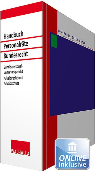 Handbuch für Personalräte Bundesrecht - Coverbild