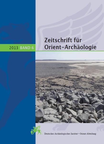 Zeitschrift für Orient-Archäologie 6, 2013 - Coverbild