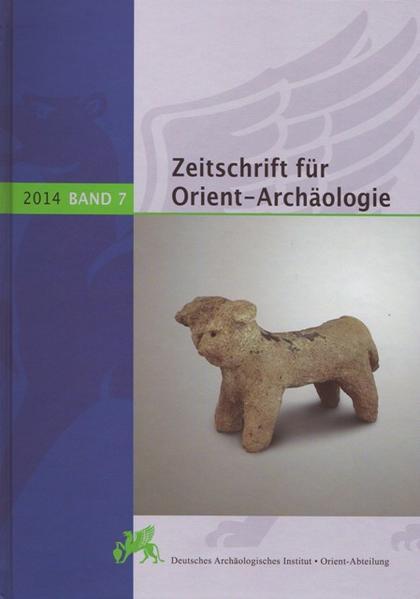 Zeitschrift für Orient-Archäologie 7, 2014 - Coverbild
