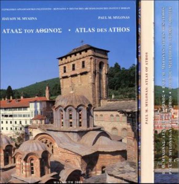 Bildlexikon des Heiligen Berges Athos, Heft 1-3 Gesamt -  Englische Ausgabe - Coverbild
