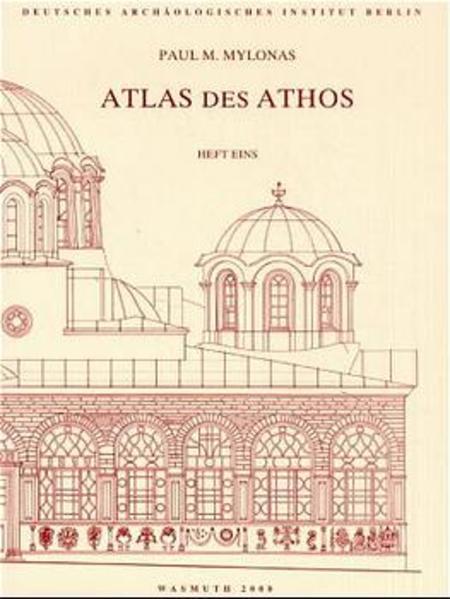 Bildlexikon des Heiligen Berges Athos,  Heft 1 Textband - Deutsche Ausgabe - Coverbild