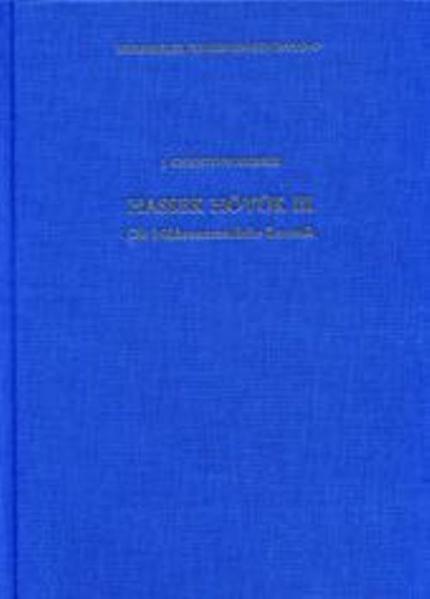 Hassek Höyük III - Coverbild
