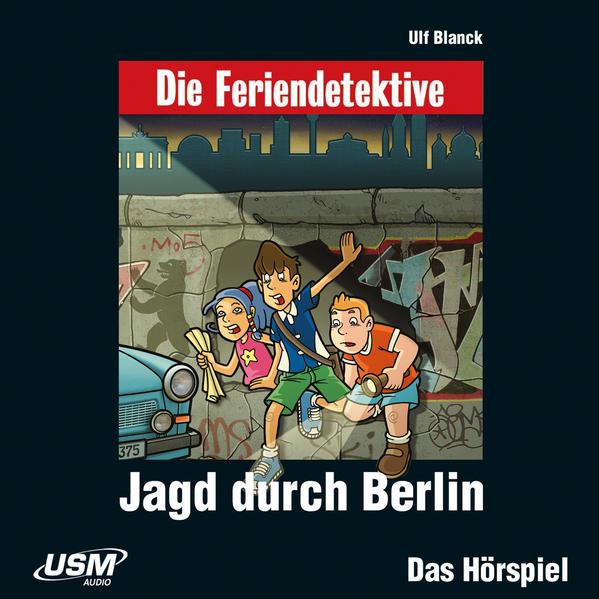 Die Baadingoo Feriendetektive: Jagd durch Berlin (Audio-CD) - Coverbild