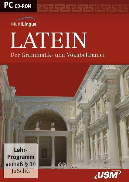 Multilingua Latein - Der Grammatik- und Vokabeltrainer (CD-ROM) - Coverbild