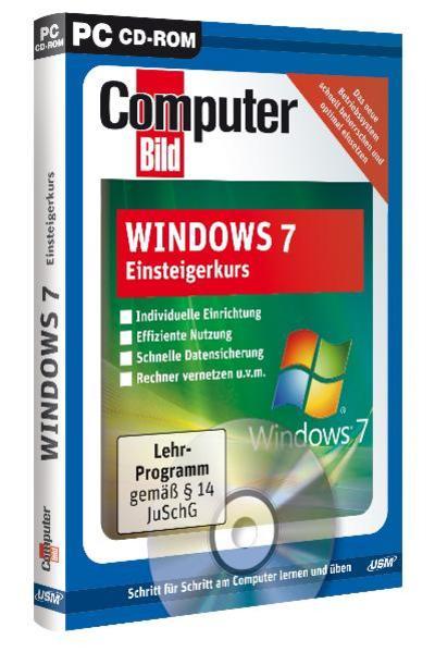 ComputerBild: Windows 7 Einsteigerkurs - Coverbild