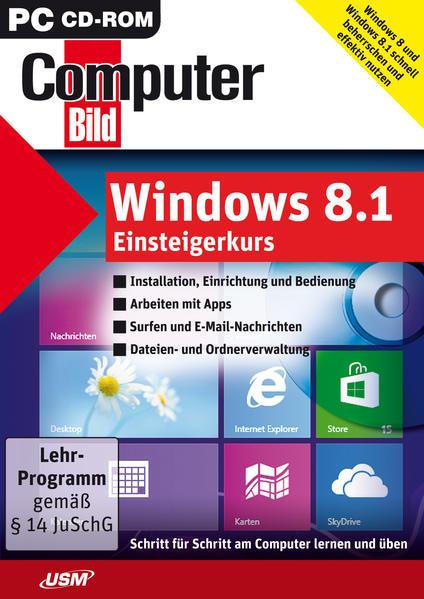 ComputerBild: Windows 8.1 Einsteigerkurs - Coverbild
