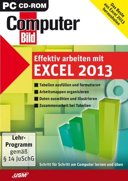 Computer Bild: Effektiv arbeiten mit Excel 2013 - Coverbild