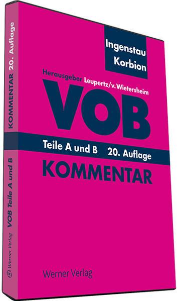 VOB A und B - Coverbild