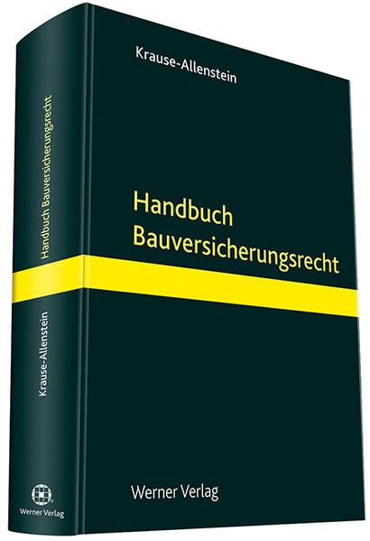 Handbuch Bauversicherungsrecht - Coverbild
