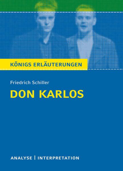 Don Karlos von Friedrich Schiller. - Coverbild