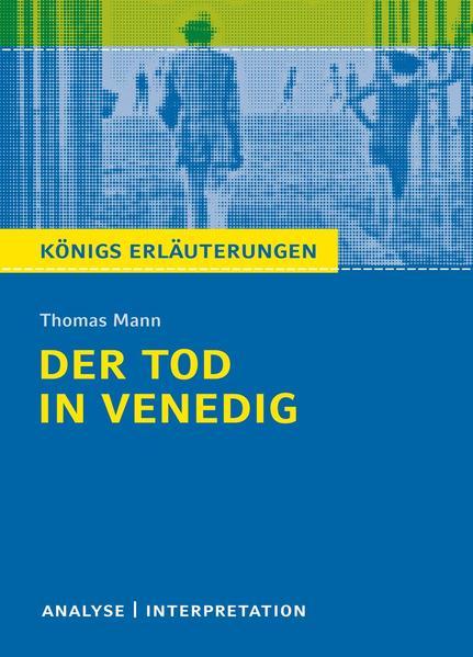 Der Tod in Venedig von Thomas Mann. - Coverbild