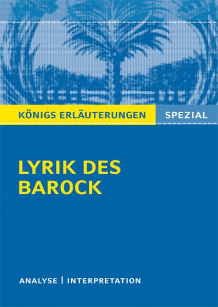 Lyrik des Barock. - Coverbild