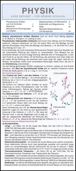 Physik: Kurz gefasst - Für höhere Schulen. - Coverbild
