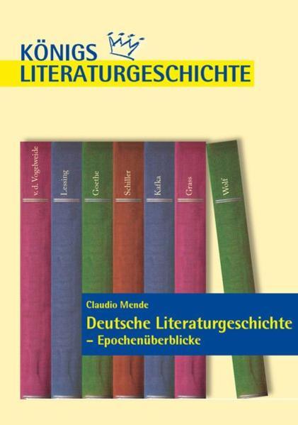 Deutsche Literaturgeschichte - Epochenüberblicke. - Coverbild