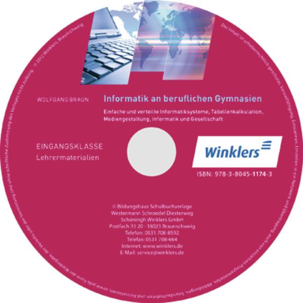 Informatik an Beruflichen Gymnasien / Informatik an Beruflichen Gymnasien Eingangsklassse - Coverbild