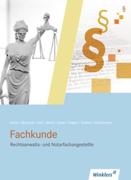 Rechtsanwalts- und Notarfachangestellte - Coverbild