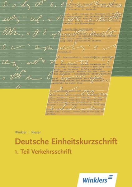 Deutsche Einheitskurzschrift - Coverbild