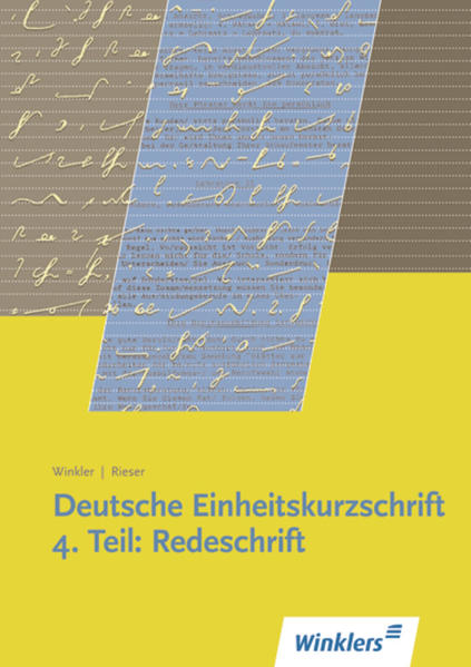 Deutsche Einheitskurzschrift / Deutsche Einheitskurzschrift - Coverbild