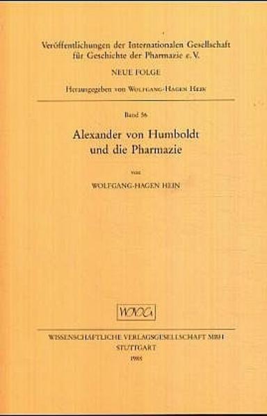 Alexander von Humboldt und die Pharmazie - Coverbild