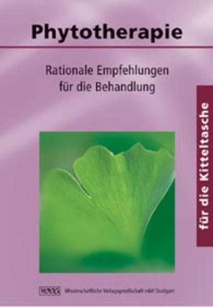 Phytotherapie für die Kitteltasche - Coverbild