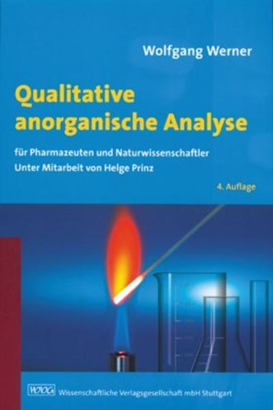 Qualitative anorganische Analyse  - Coverbild