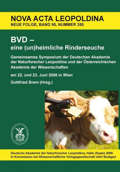 BVD - eine (un)heimliche Rinderseuche - Coverbild