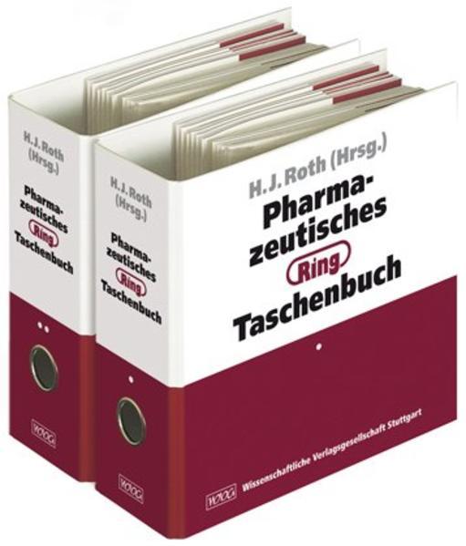 Pharmazeutisches Ring-Taschenbuch - Coverbild