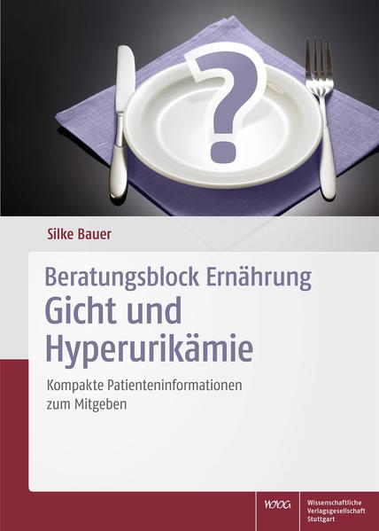 Beratungsblock Ernährung: Gicht und Hyperurikämie - Coverbild