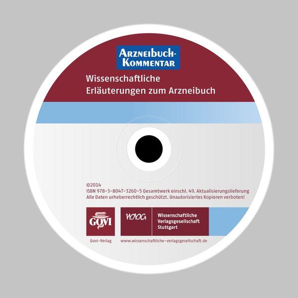 Arzneibuch-Kommentar CD-ROM VOL 49 - Coverbild