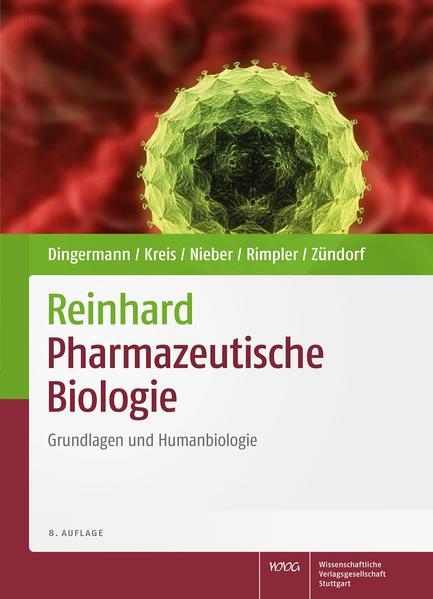 Reinhard Pharmazeutische Biologie - Coverbild