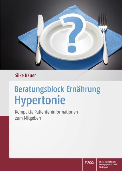 Beratungsblock Ernährung: Hypertonie - Coverbild