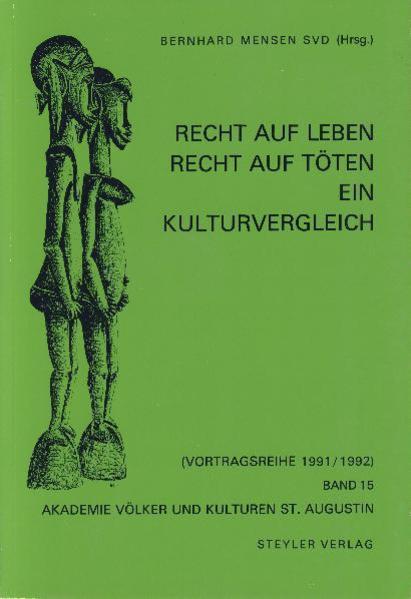 Recht auf Leben - Recht auf Töten - Coverbild