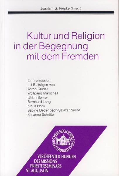 Kultur und Religion in der Begegnung mit dem Fremden - Coverbild