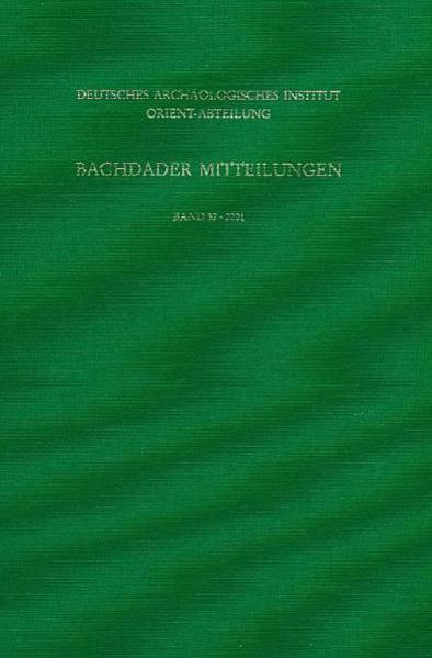 Baghdader Mitteilungen - Coverbild