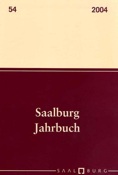 Saalburg Jahrbuch - Coverbild