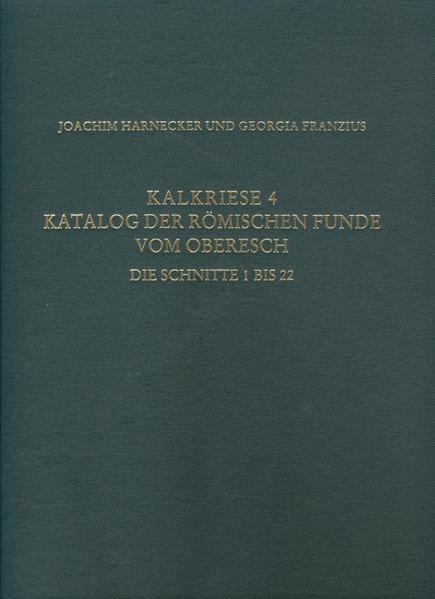 Kalkriese 4/Katalog der römischen Funde vom Oberesch - Coverbild