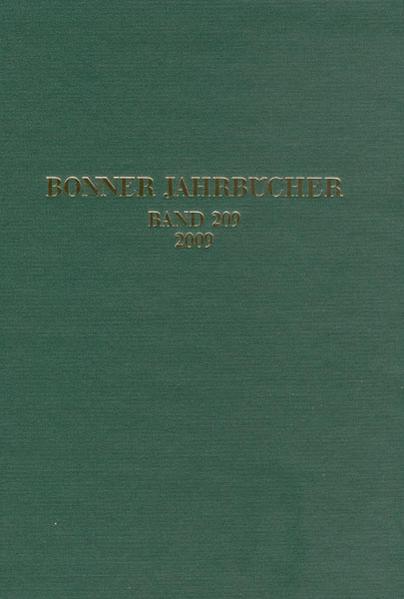 Bonner Jahrbücher - Coverbild