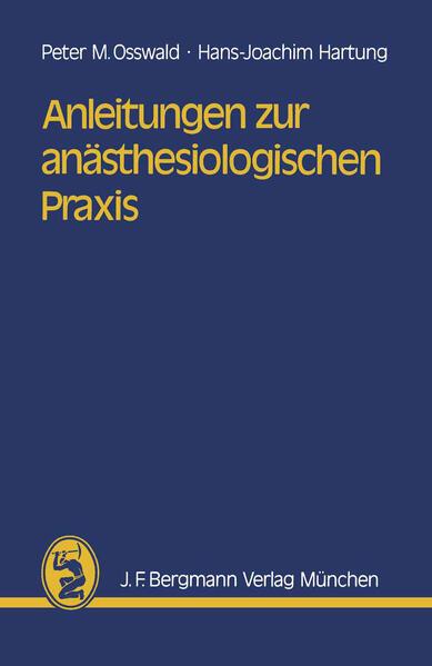 Anleitungen zur anästhesiologischen Praxis - Coverbild